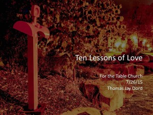 10 Lessons of Love cover